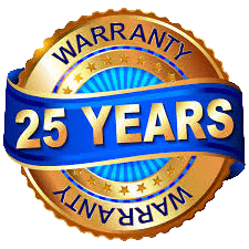 25 year warranty on solar installation